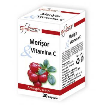 Merisor & vitamina c 30 cps FARMACLASS