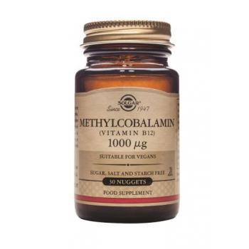 Methylcobalamin (vitamina b12) 1000 mcg 30 tbl SOLGAR