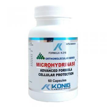 Microhydrinaza – alcalinizant celular 60 cps FORMULA K