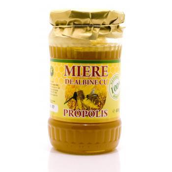 Miere de albine cu propolis 400 gr HYPERICUM