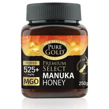 Miere manuka mgo 525  250 gr PURE GOLD