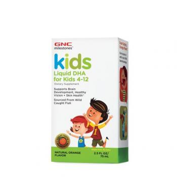 Milestones kids dha copii 4-12 ani  75 ml GNC