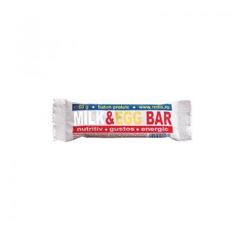 Milk & egg bar 60 gr REDIS