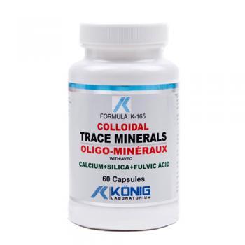 Minerale trasoare coloidale organice cu acid fulvic 60 cps FORMULA K