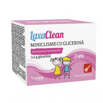 Miniclisme cu glicerina pentru copii 6 gr VIVA PHARMA