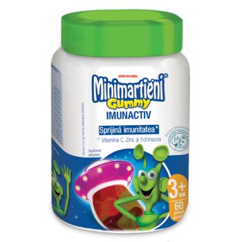 Minimartieni gummy cu echinacea 60 cps WALMARK