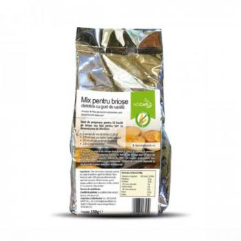 Mix briose dietetice cu vanilie  150 gr BETTER THAN FOODS