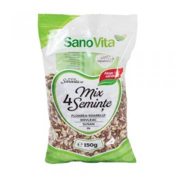 Mix din 4 seminte 150 gr SANO VITA