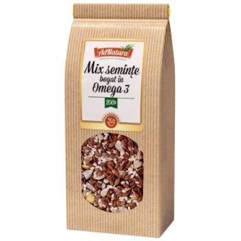 Mix seminte omega 3  200 gr ADNATURA