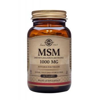 Msm 1000 mg 60 tbl SOLGAR