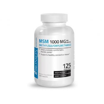 Msm 1000mg  250 cps BRONSON