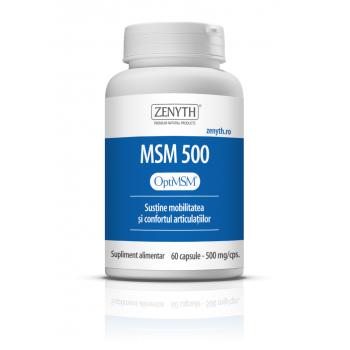 Msm 500, sustine mobilitatea si confortul articulatiilor 60 cps ZENYTH