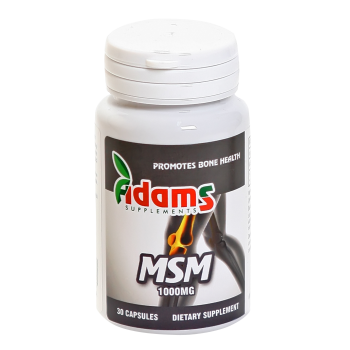Msm (metilsulfonilmetan) 1000mg 30 cps ADAMS SUPPLEMENTS