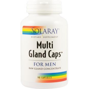 Multi gland caps for men 90 cps SOLARAY