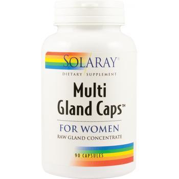Multi gland caps for women 90 cps SOLARAY
