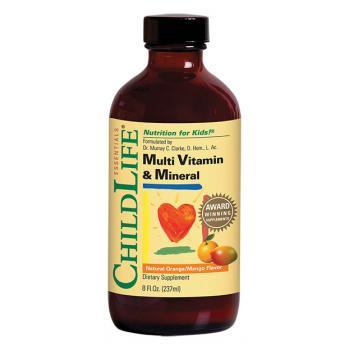 Multi vitamin & mineral 237 ml CHILDLIFE ESSENTIALS