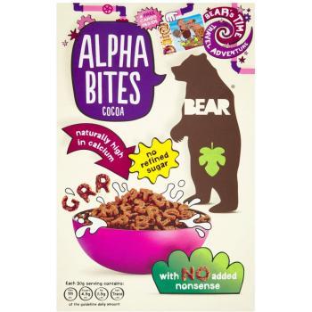 Multicereale alfabet cu cacao 375 gr UNICORN NATURALS