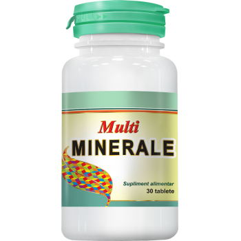 Multiminerale 30 tbl COSMOPHARM
