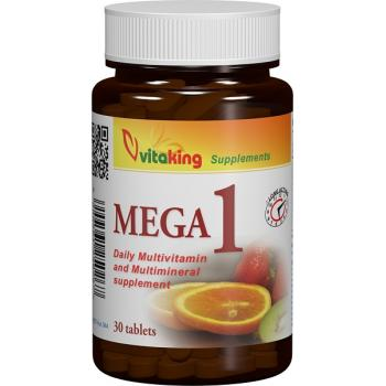 Multivitamina mega 1 30 cpr VITAKING