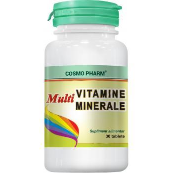 Multivitamine multiminerale 30 tbl COSMOPHARM