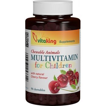 Multivitamine pentru copii 90 cpr VITAKING