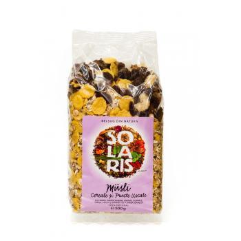 Musli din cereale si fructe uscate 500 gr SOLARIS