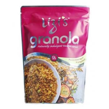 Musli granola lizi`s cu fructul pasiunii si fistic 400 gr UNICORN NATURALS