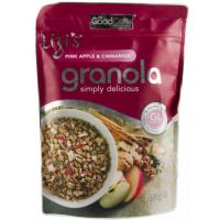 Musli granola lizi`s cu mar roz si scortisoara