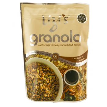 Musli granola lizi`s cu melisa si nuci pecan 400 gr UNICORN NATURALS