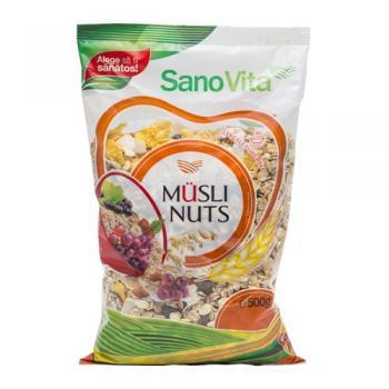 Musli nuts 500 gr SANO VITA