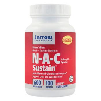 N-A-C Sustain 100 tbl JARROW FORMULAS