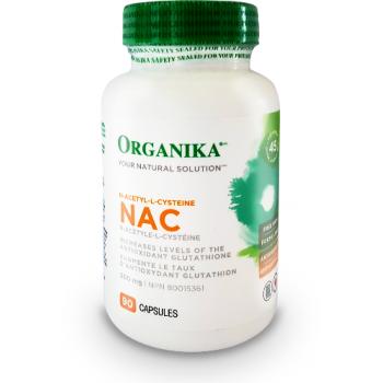 NAC n-acetyle-l-cysteine 90 cps ORGANIKA