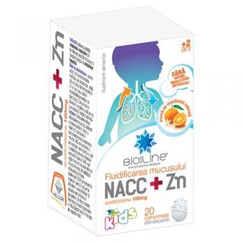 Nacc + zn 20 cpr BIO SUN LINE