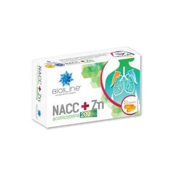 Nacc+zn 200mg  20 cps BIO SUN LINE
