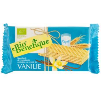 Napolitana cu crema de vanilie eco 40 gr BIO BENEFIQUE