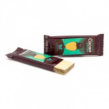Napolitane cu crema cacao si green sugar 40 gr SWEETERIA