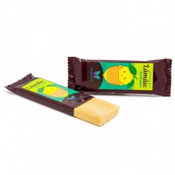 Napolitane cu crema lamaie si green sugar 40 gr SWEETERIA