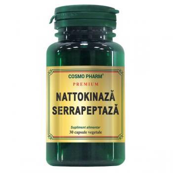 Nattokinaza serrapeptaza 30 cps COSMOPHARM PREMIUM