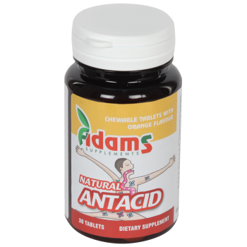 Natural antacid 30 tbl ADAMS SUPPLEMENTS