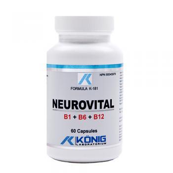 Neurovital 60 cps FORMULA K