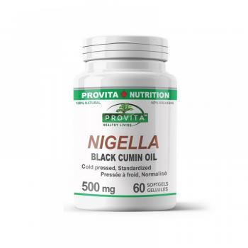 Nigella - Ulei de Chimen Negru 60 cps PROVITA