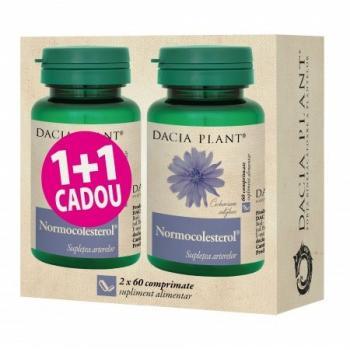 Normocolesterol 1+1 gratis 60+60 cpr DACIA PLANT