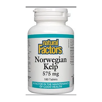 Norwegian kelp – kelp norvegian 180 tbl NATURAL FACTORS