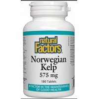 Norwegian kelp – kelp norvegian 180tbl NATURAL FACTORS