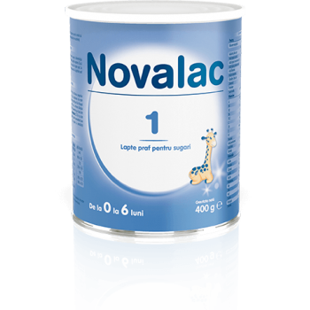 Novalac 1, lapte praf pentru sugari 400 gr SUN WAVE PHARMA