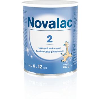 Novalac 2, lapte praf pentru sugari 400 gr SUN WAVE PHARMA