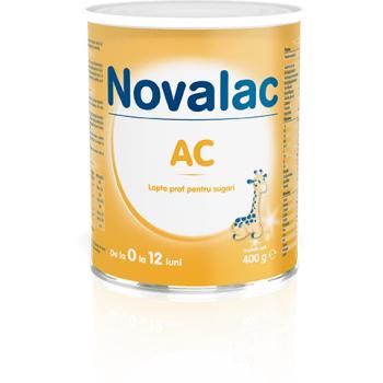 Novalac ac, lapte praf pentru sugari 400 gr SUN WAVE PHARMA