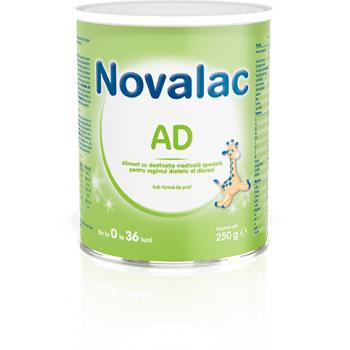 Novalac ad, pentru regimul dietetic al diareei 250 gr SUN WAVE PHARMA