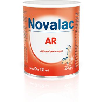 Novalac ar, lapte praf pentru sugari 400 gr SUN WAVE PHARMA