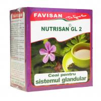 Nutrisan gl2- ceai pentru sistemul glandular a033